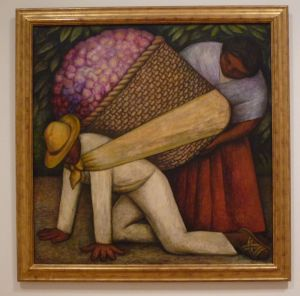 The Flower Sellers - Diego Rivera