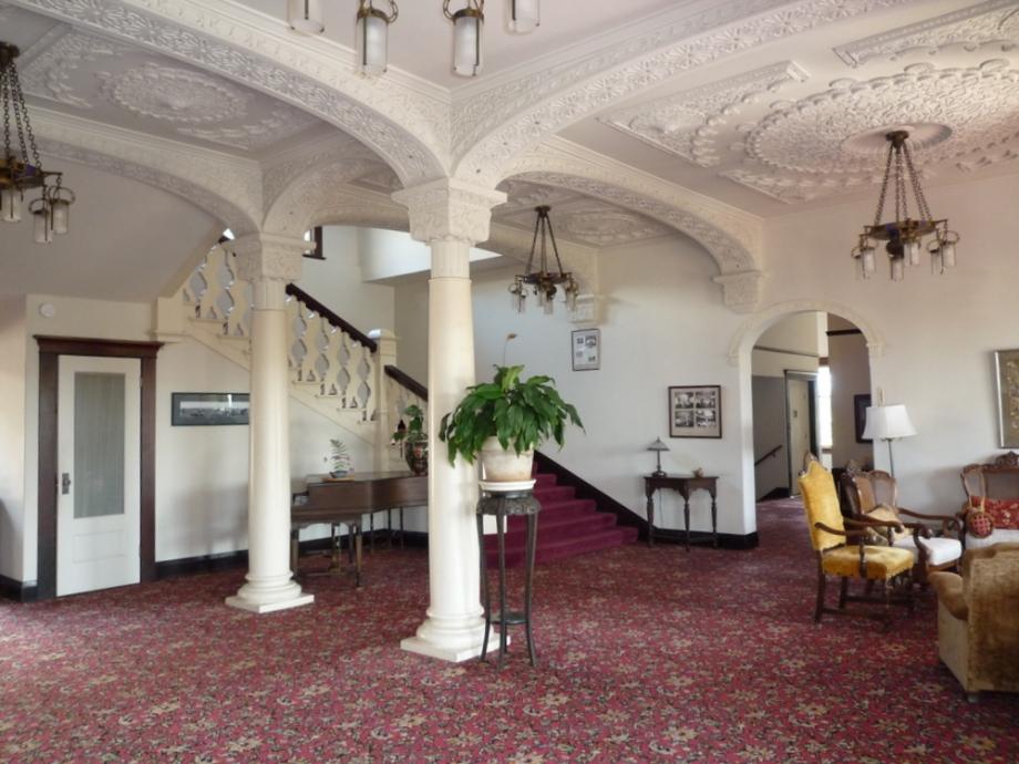 Inside historic Piedmont Court