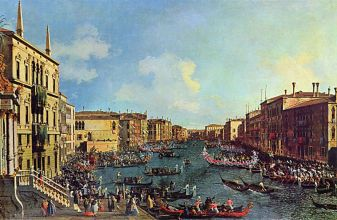 One of the famous images by Canaletto, who lived there at the time.